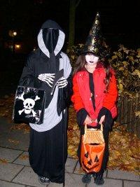 Halloween - bus eller godis?