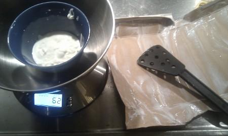 62 g filmjölk kvar i paketet