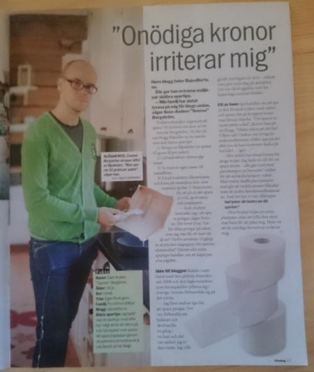Från Aftonbladets söndagsbilaga